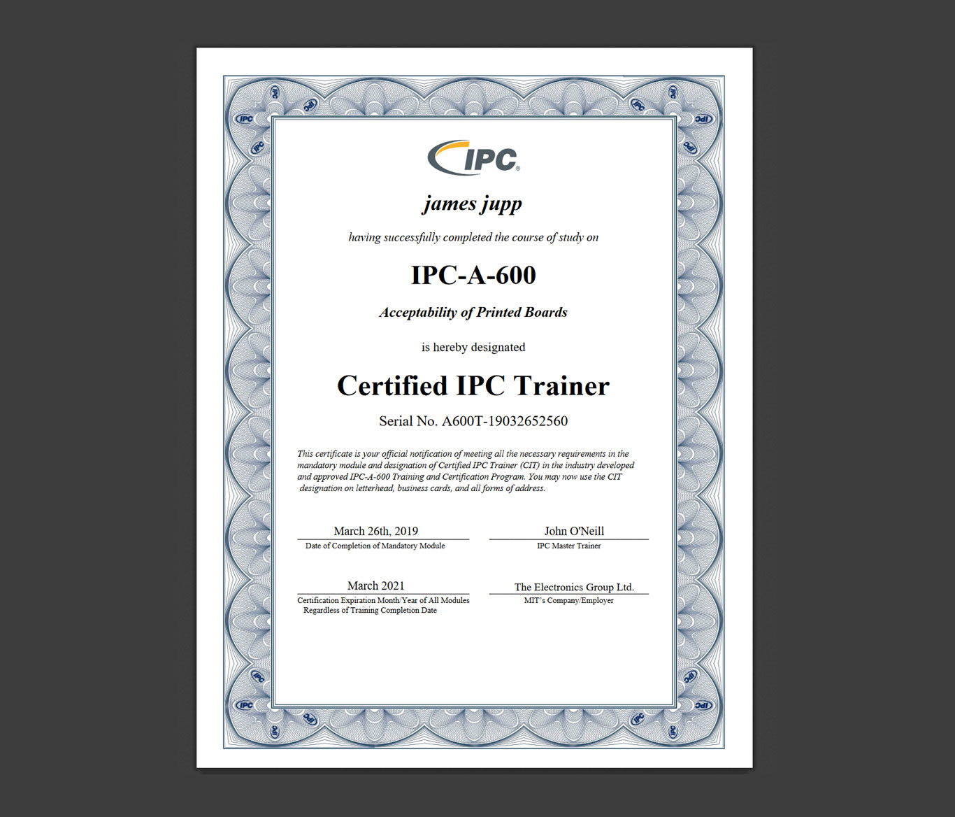 Quality, Assurance and Testing I Garner Osborne UK PCB